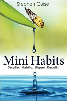 Stephen Guise: Mini-Habits https://www.amazon.de/Mini-Habits-Smaller-Bigger-Results/dp/1494882272/ref=tmm_pap_swatch_0?_encoding=UTF8&qid=&sr=