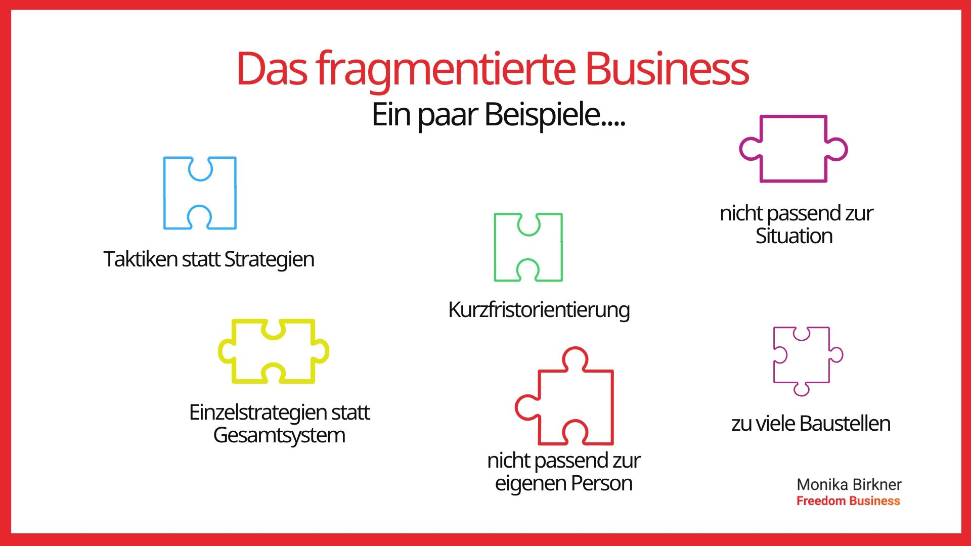 Monika Birkner: Fragmentiertes Business