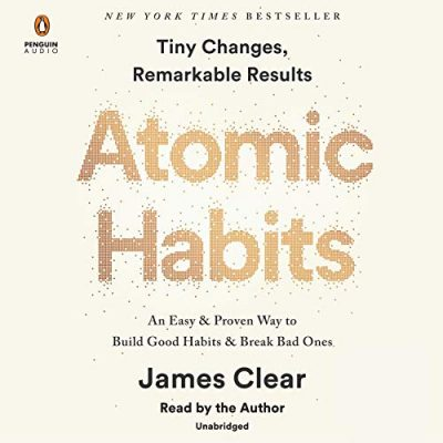 James Clear Atomic Habits Cover